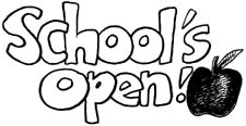 Image result for school reopens clipart